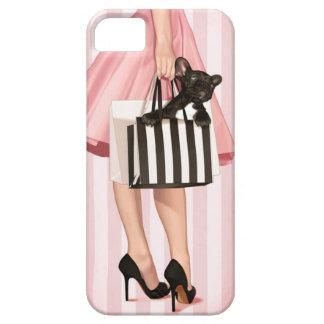El hacer compras en los años 50 iPhone 5 protector