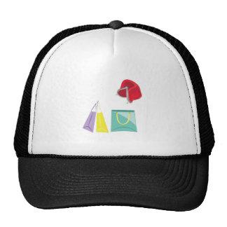El hacer compras gorras de camionero