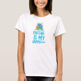 El hacer punto es la camiseta básica de mis