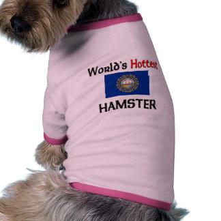 El hámster más caliente del mundo ropa macota