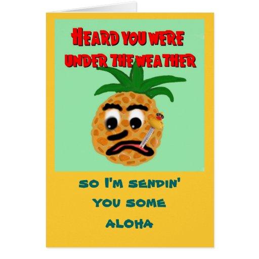 El Hawaiano-Estilo consigue la tarjeta bien