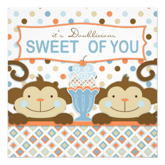 El helado gemelo de los monos y del helado le agra invitacion personal