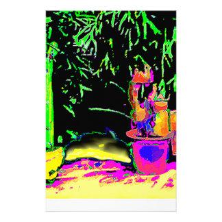 El helecho de Staghorn VA jGibney VERDE El MUSEO Papeleria De Diseño