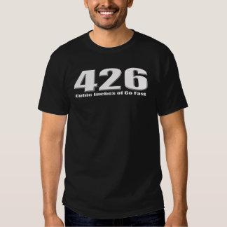 El hemi de Dodge 426 va Mopar rápido Camisetas