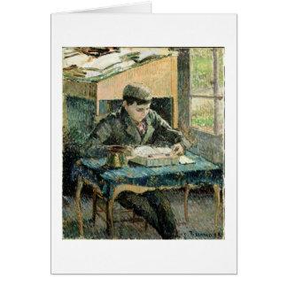 El hijo del artista, 1893 (aceite en lona) tarjetón