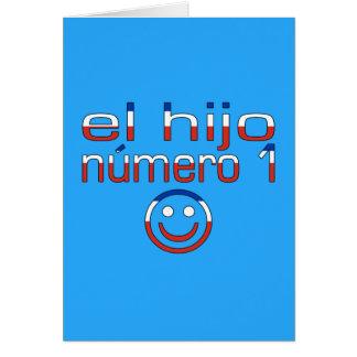 EL Hijo Número 1 - hijo del número 1 en chileno Tarjetas