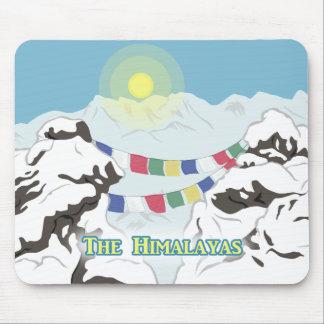 El Himalaya Alfombrilla De Ratón