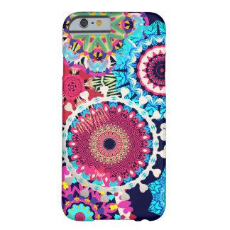 El hippy florece las cubiertas del iphone funda para iPhone 6 barely there