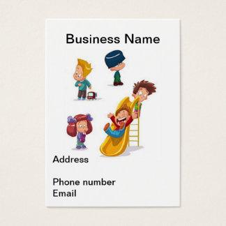 El hogar basó cuidado de niños tarjeta de negocios