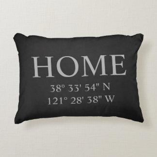 El hogar coordina la almohada
