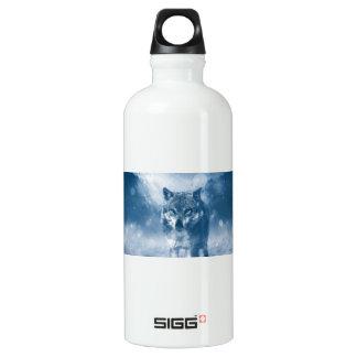 El hogar de la oficina del lobo personaliza botella de agua