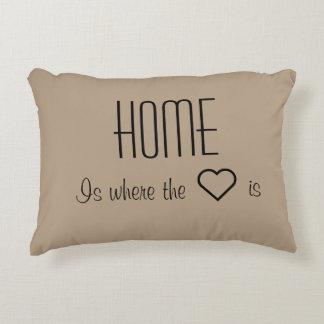El hogar es donde está almohada el corazón