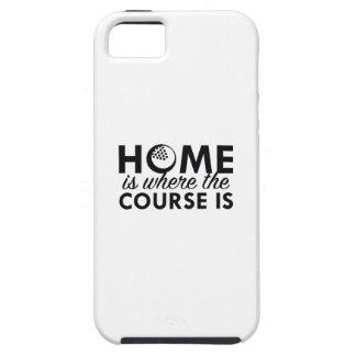 El hogar es donde está el curso funda para iPhone SE/5/5s