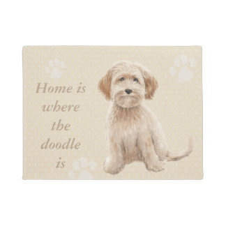 El hogar es donde está el doodle