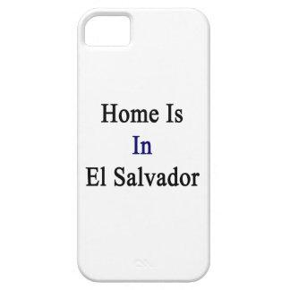 El hogar está en El Salvador iPhone 5 Cárcasa
