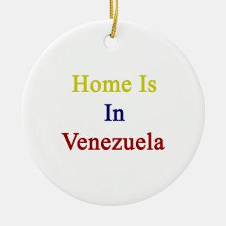El hogar está en Venezuela