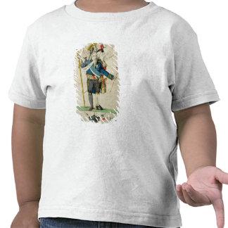 El hombre con seis caricaturas de Heads', de Camisetas