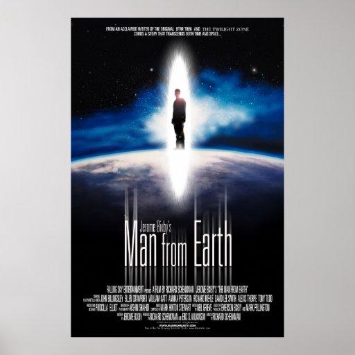 El hombre de la tierra - poster/Uno-Hoja