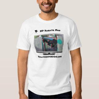 el hombre del karate 3D ve para hacer estallar Camisas