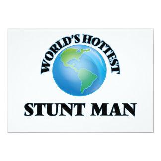 El hombre del truco más caliente del mundo invitación 12,7 x 17,8 cm