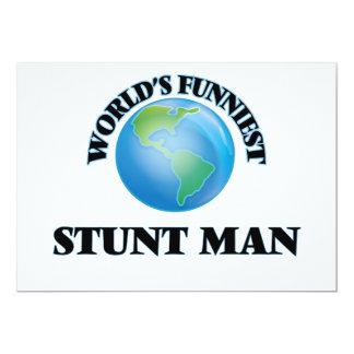 El hombre del truco más divertido del mundo invitación 12,7 x 17,8 cm