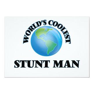El hombre del truco más fresco del mundo invitación 12,7 x 17,8 cm