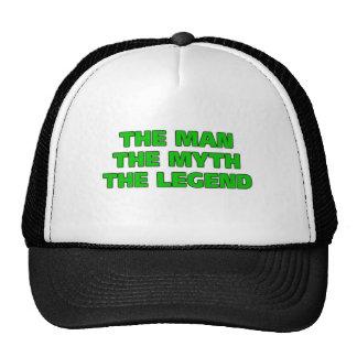El hombre, el mito, la leyenda gorros bordados