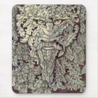 """""""El hombre verde"""" por Daryll Billington Alfombrilla De Ratón"""