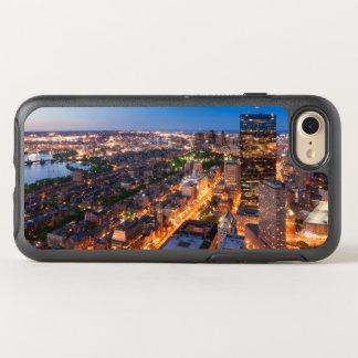 El horizonte de Boston en la oscuridad Funda OtterBox Symmetry Para iPhone 7