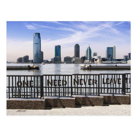 El horizonte uno de Jersey City nunca necesita Postal