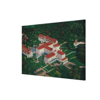 El hotel Del Monte del airDel Monte, CA Lona Estirada Galerías