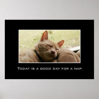 El hoy es un buen día para una siesta [el XL] Póster