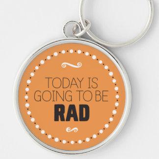 El hoy va a ser el llavero del Rad - BG Editable