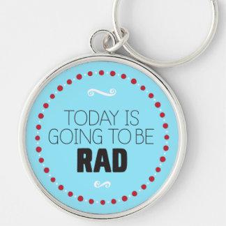 El hoy va a ser llavero del Rad - azul
