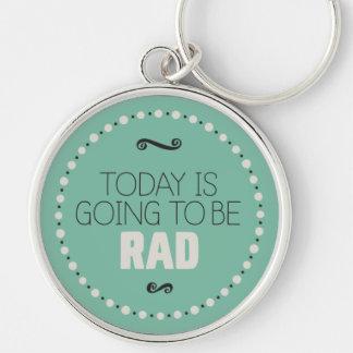 El hoy va a ser llavero del Rad - verde