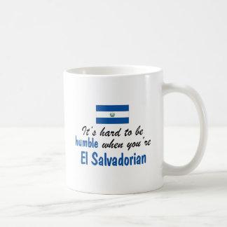 EL humilde salvadoreño Taza Básica Blanca
