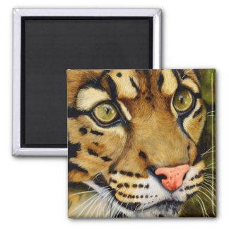 El Huntress - leopardo nublado Imanes