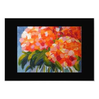 El Hydrangea de Calah florece 3,5 x 5 Notecard Invitación 8,9 X 12,7 Cm