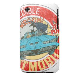 El icono increíble de Batmobile iPhone 3 Case-Mate Funda