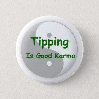 El inclinar es buen botón de las karmas