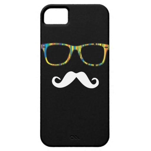 El inconformista del bigote iPhone 5 funda