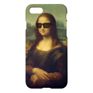 El inconformista divertido Mona Lisa sombrea a Funda Para iPhone 7
