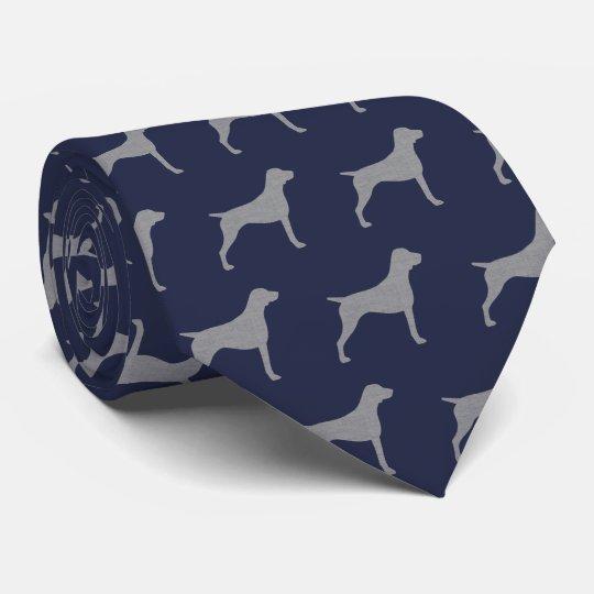 El indicador de pelo corto alemán siluetea el corbatas personalizadas