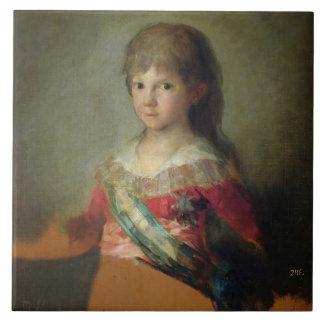 El infante Don Francisco de Paula Antonio, 1800 ( Tejas Ceramicas