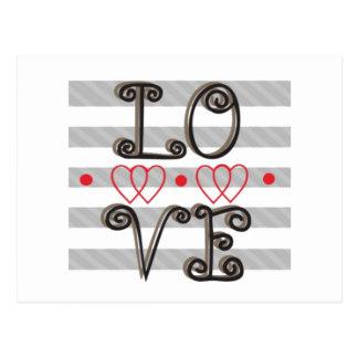 El infinito del amor mide el tiempo de la postal