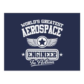 El ingeniero aeroespacial más grande del mundo postal