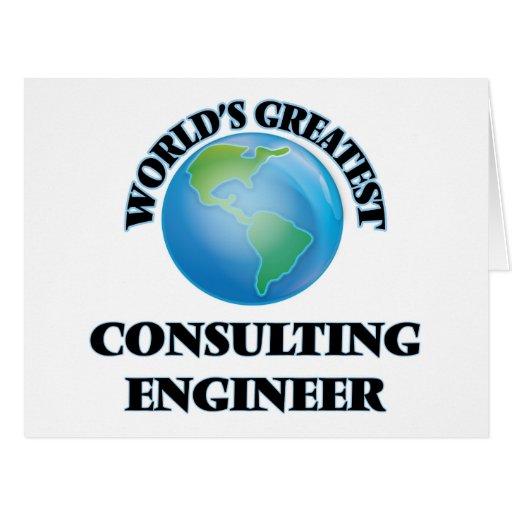 El ingeniero asesor más grande del mundo felicitación