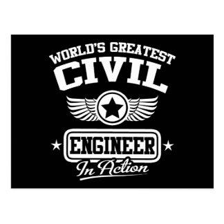 El ingeniero civil más grande del mundo en la postal