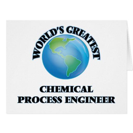 El ingeniero de proceso químico más grande del felicitaciones