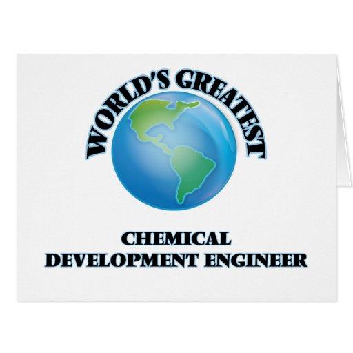 El ingeniero del desarrollo químico más grande del felicitación